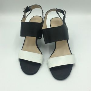 Franco Sarto Strap Block Heel Sandals